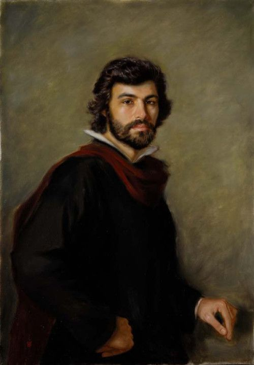painting-of-handsome-man